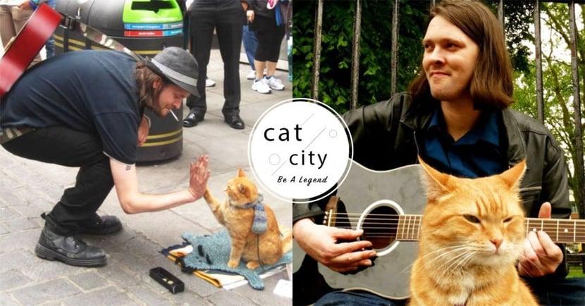 最暖心的人貓情緣!超感人電影《遇見街貓BOB》,看浪貓如何翻轉毒癮主人的一生