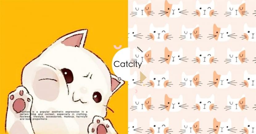 【手機桌布】解鎖喵喵桌布!10 款可愛「貓咪彩繪桌布」攻佔地球~