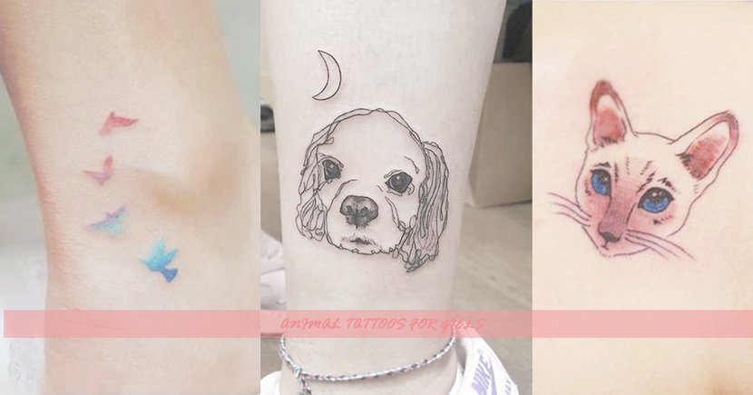 誰說這是男生的專利?22款超簡約風動物刺青,也太療癒了吧!