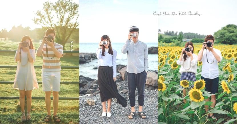 我要與你一起遊世界!韓國情侶的旅行攝影,有個會拍照的男友太幸福了〜