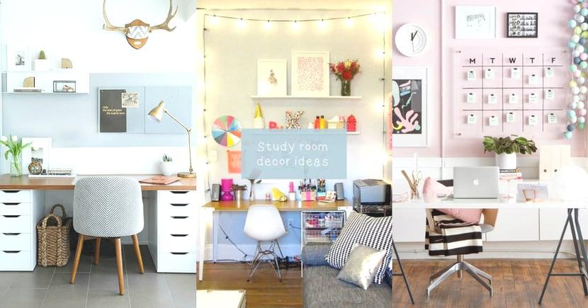神啊給我動力好嗎!5個佈置書房的DIY點子,這樣的書房讓我想立刻翻開書本溫習!