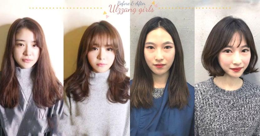 這根本是變魔術的程度!10組韓妞「換妝髮」前後,下次去韓國一定到拜訪它們的美容室啦!
