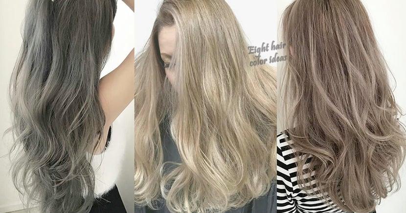 姐今年要來個新突破~近年大熱髮色8選,直接拿這個給髮型師看就可以了!