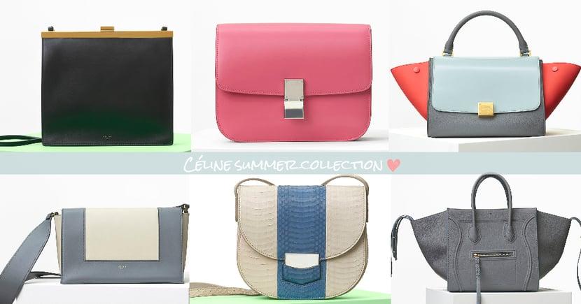 目標是30歲前能擁有一個!Céline 2017夏季手袋系列,簡約有質感的設計絕對可以用上一輩子!