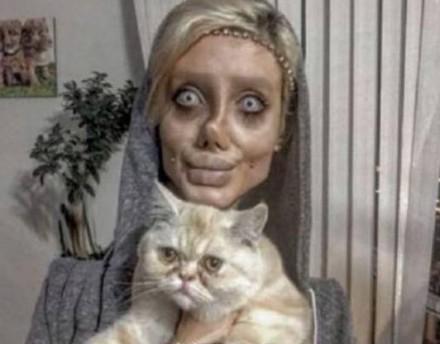 【整容失敗】Sahar Tabar為變Angelina Jolie卻整容成癮,19歲女數月整容50次變僵屍新娘