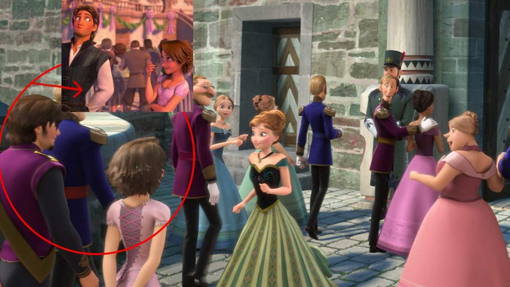 Frozen -Tangled Cameo-