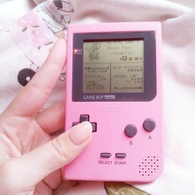 小時候玩過Game Boy的女生都絕對是有個好童年呢