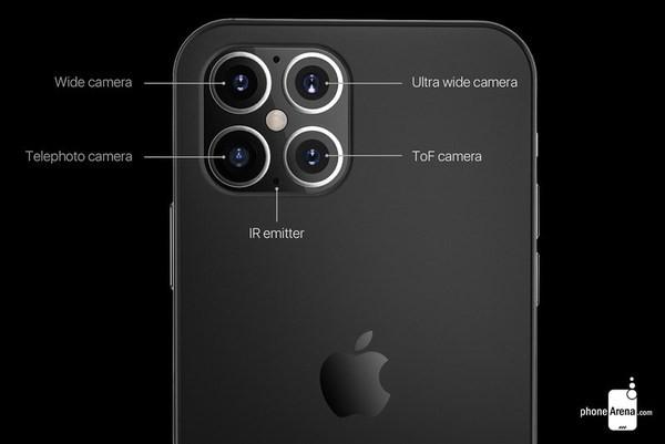 當中最大的改變就是iPhone 12或會從現時的3鏡頭改為4鏡頭或更多的鏡頭設計
