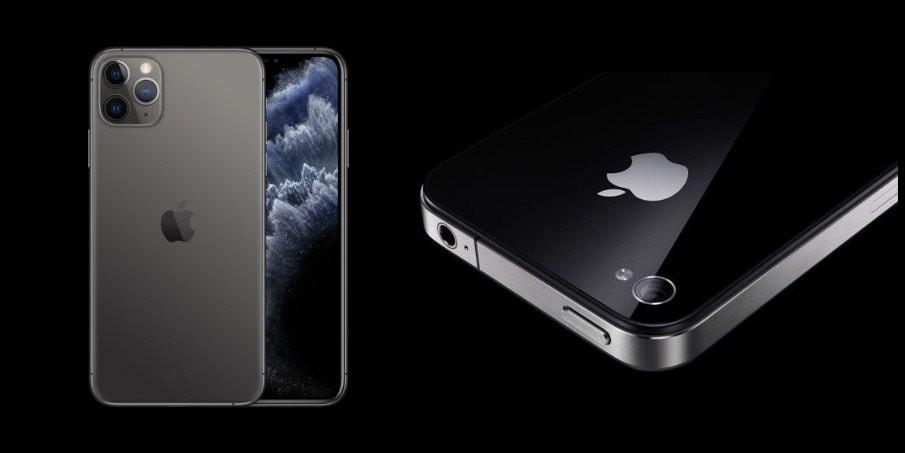 延續 iPhone 4 方正設計