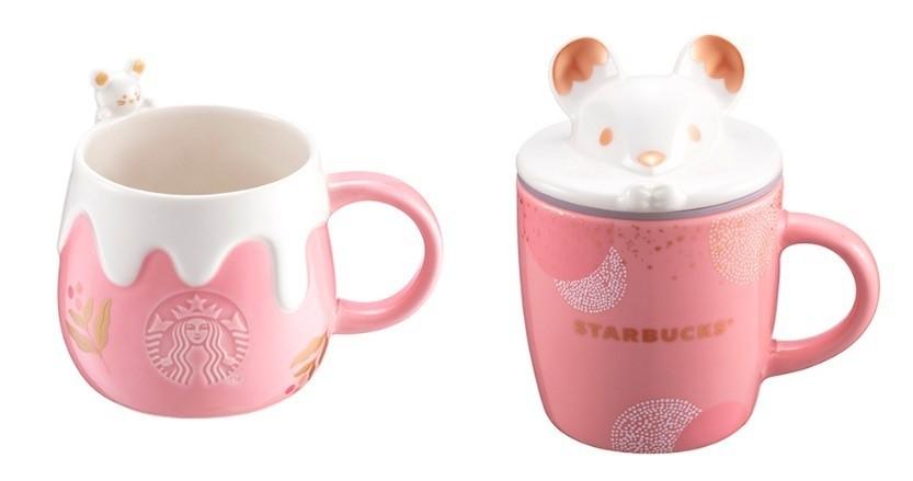 Starbucks推2020鼠年杯款