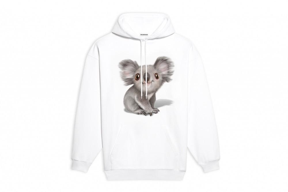 balenciaga-australia-bushfire-disaster-koala-hoodie-t-shirt-release-1
