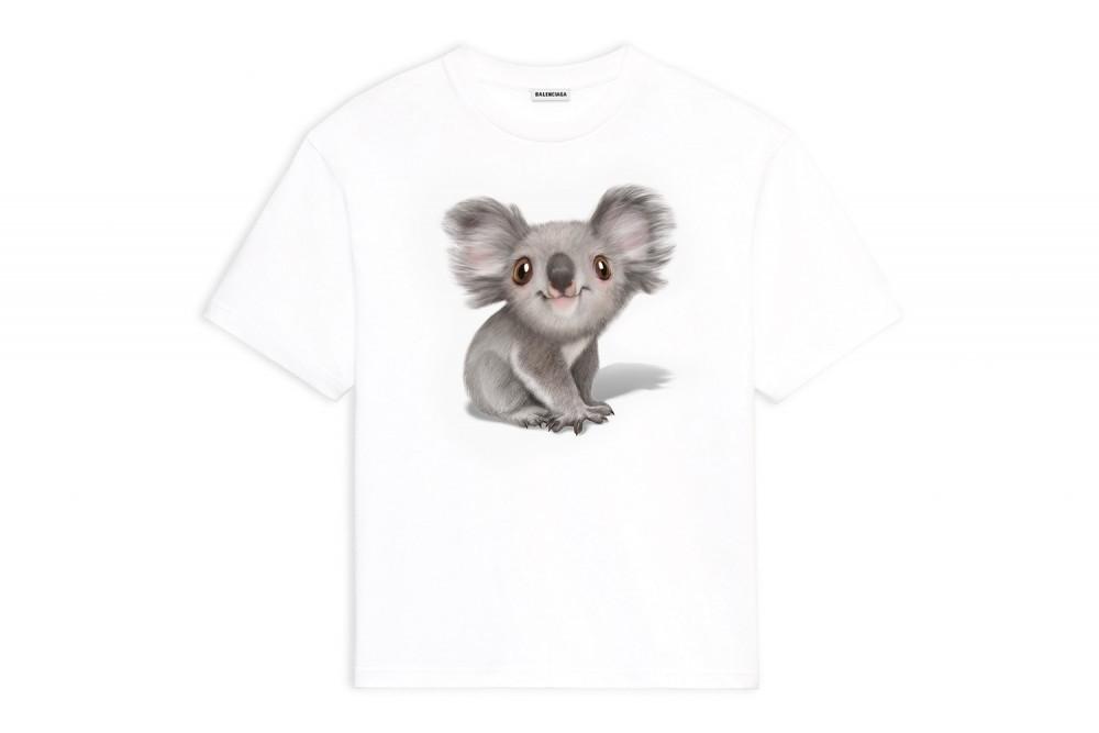 balenciaga-australia-bushfire-disaster-koala-hoodie-t-shirt-release-2