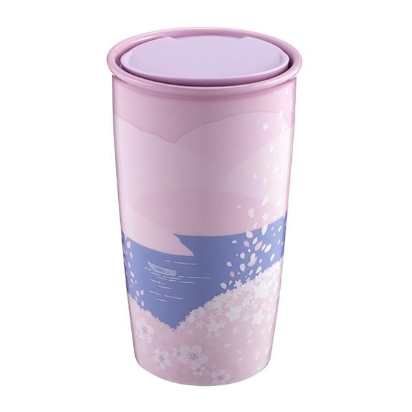粉櫻山谷雙層馬克杯