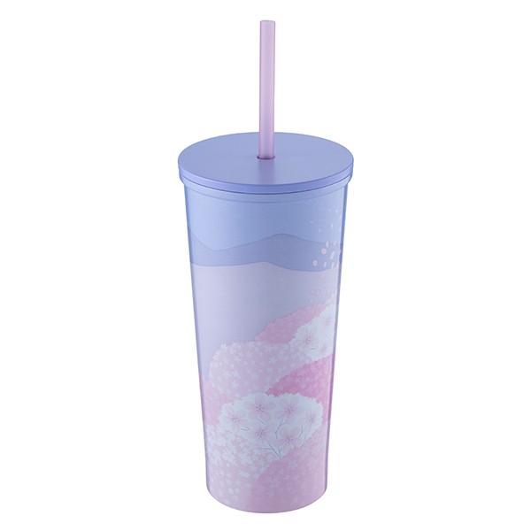 紫櫻晴空不鏽鋼杯