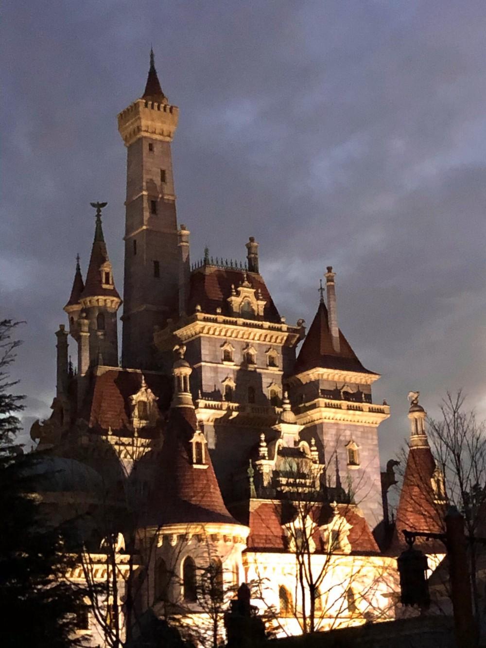 絕美粉色公主城堡完工圖曝光!超想去~