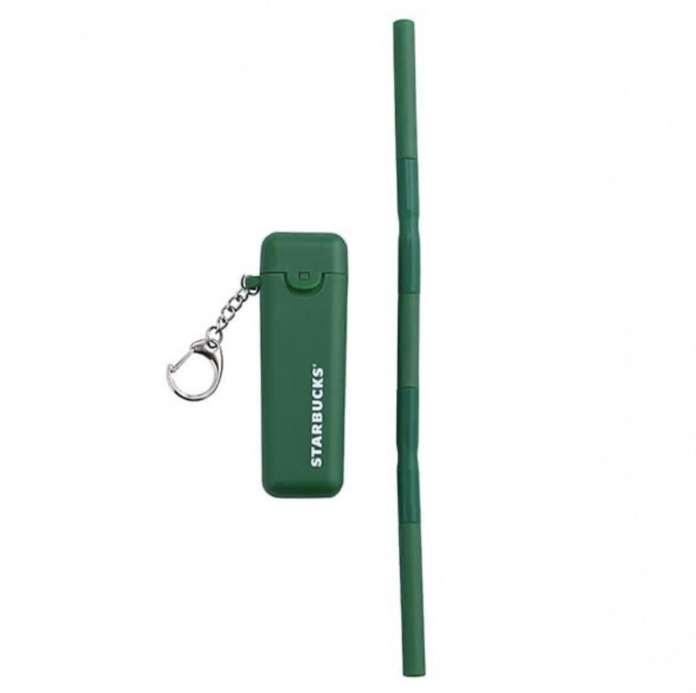 外觀採用了星巴克經典綠色,外殼簡單地印上白色品牌名字,簡約又不失時尚感~