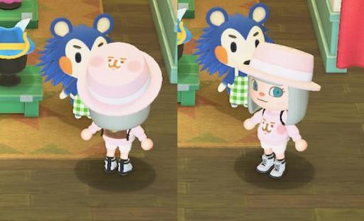 【動物森友服飾QR CODE下載】P助與粉紅兔兔作者ID!