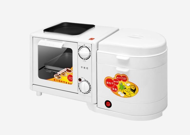 「四合一早餐機」懶人必備!有齊焗爐、煎盤、蒸煮鍋