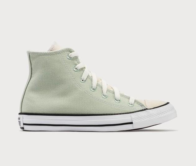Converse帆布鞋牛油果