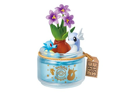 寵物小精靈Pocket Botanical噴墨海馬+迷你龍