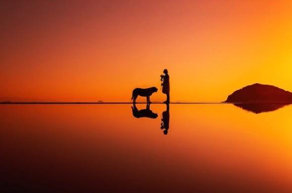 日本天空之鏡「父母之濱」