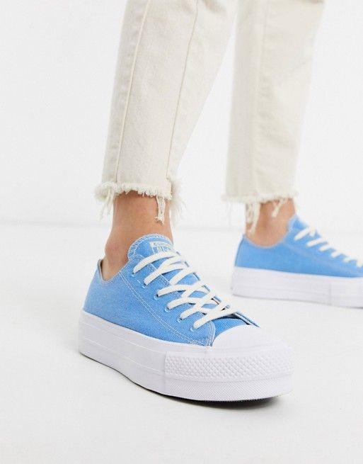Converse鞋 藍色