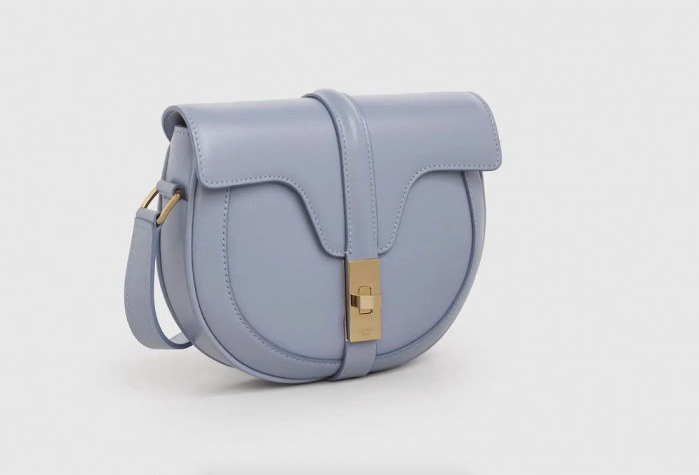 Celine SMALL BESACE 16 BAG 北極藍色