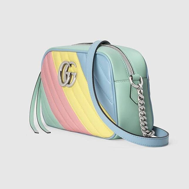 Gucci GG Marmont 全新奶油糖果拼色