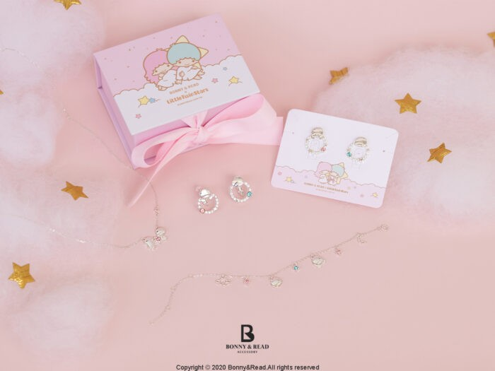 台灣Bonny & Read推出Little Twin Stars聯名飾物!