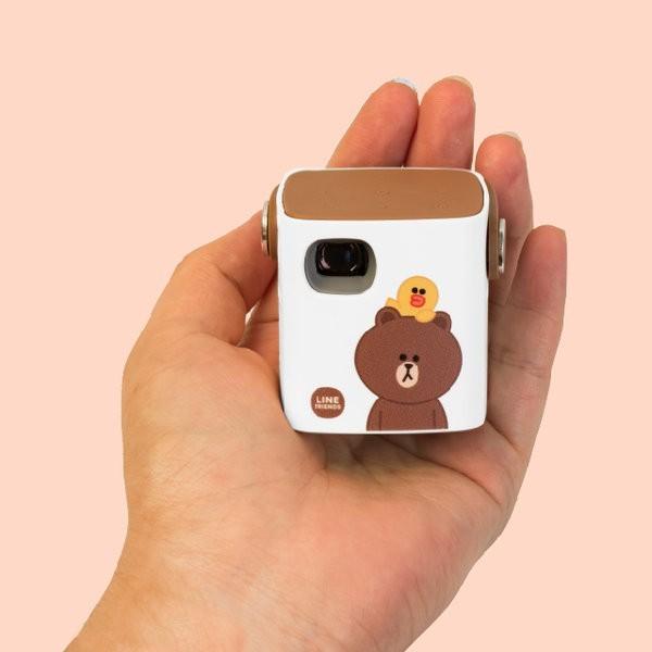 韓國推出超迷你「熊大投影機」