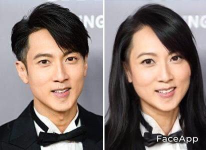 【FaceApp變性】香港男明星變性吳尊