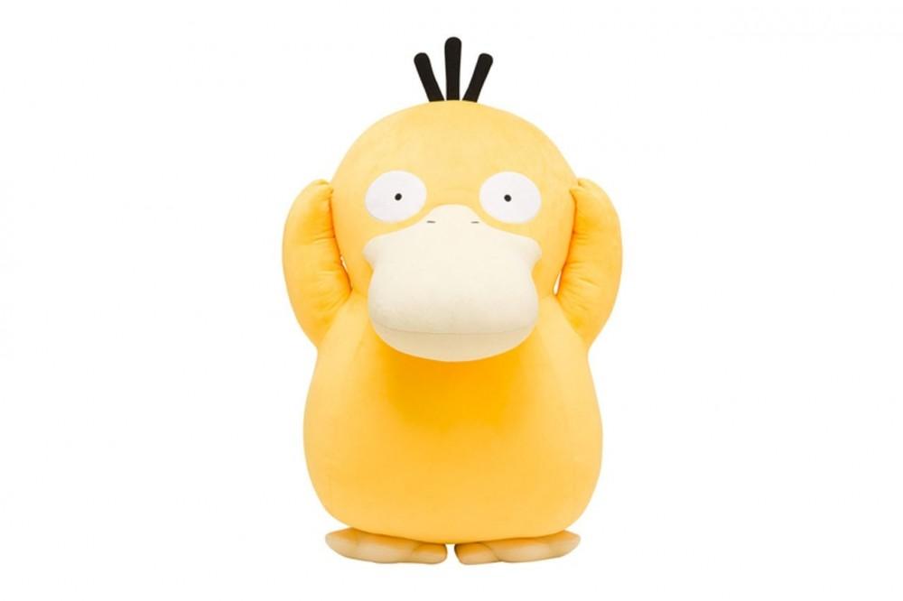 Pokémon官方推出 1:1 大傻鴨公仔