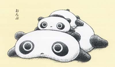 童年卡通人物趴地熊