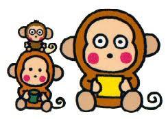 童年卡通人物Monkichi(馬騮仔)