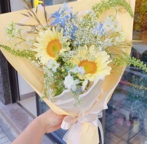 【花束2020】奶黃向日葵花語