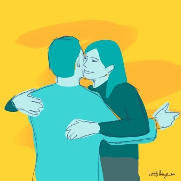 「情侶擁抱」隱藏意思大不同!