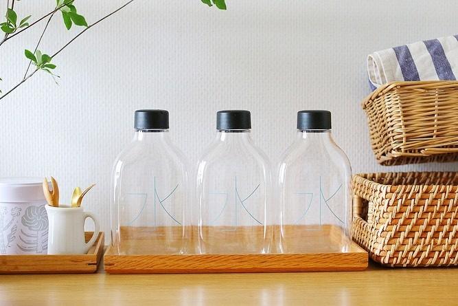 MUJI無印良品極簡約「水」字水樽 (自分で詰める水) 環保又美觀