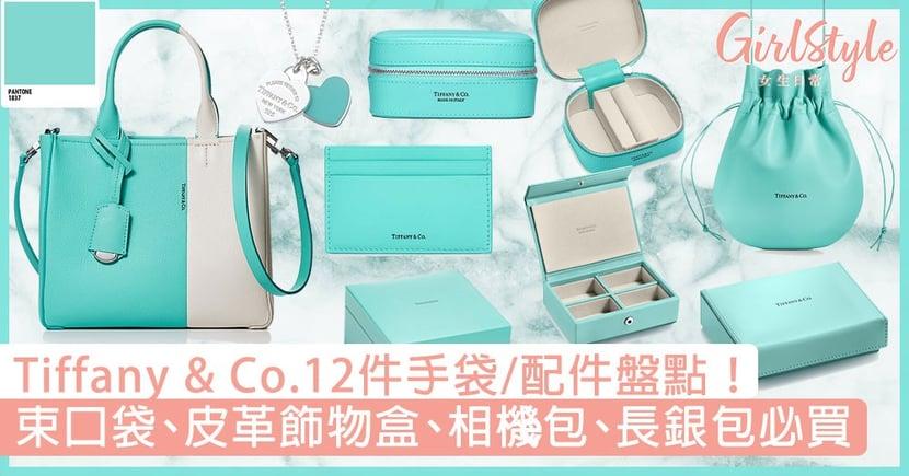 Tiffany & Co.12件手袋/配件盤點!束口袋、皮革飾物盒、相機包、長銀包必買!