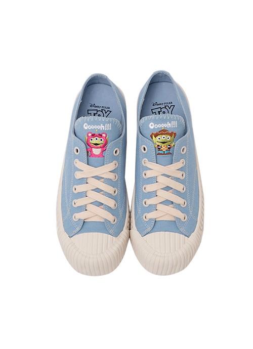 Toystory帆布餅乾鞋!胡迪, 寶貝, 巴斯光年, 三眼仔, 勞蘇