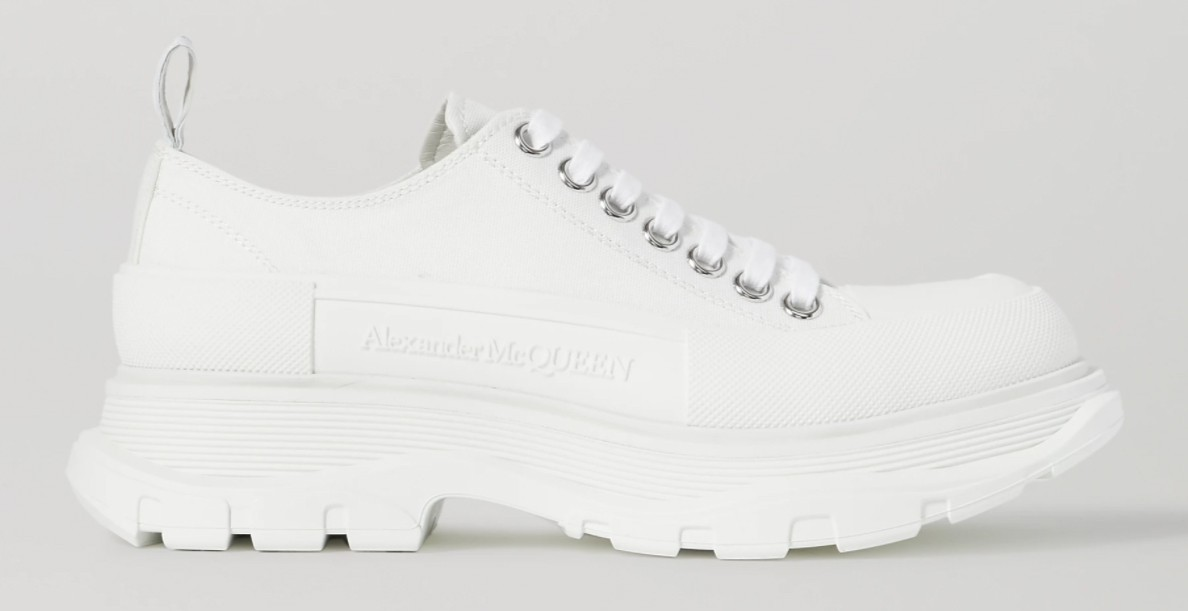 ALEXANDER MCQUEEN Canvas exaggerated-sole sneakers HK$4,620
