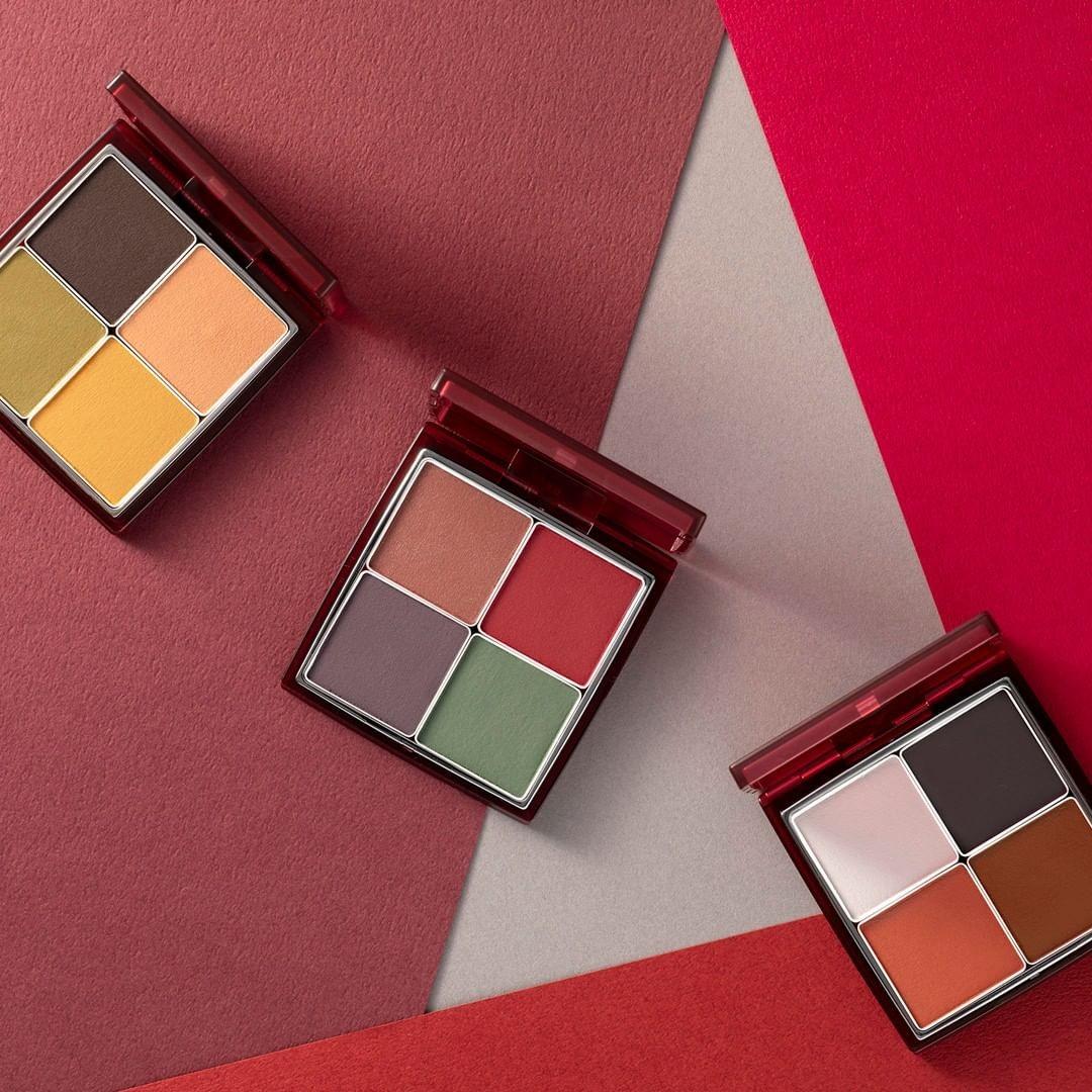 【2020秋冬眼影】楓葉紅CHANEL四色眼影 /Dior高級訂製五色眼影/RMK浮世繪眼影
