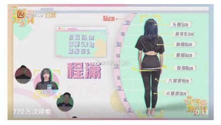 韓國女團宇宙少女中國成員程瀟身高體重和三圍