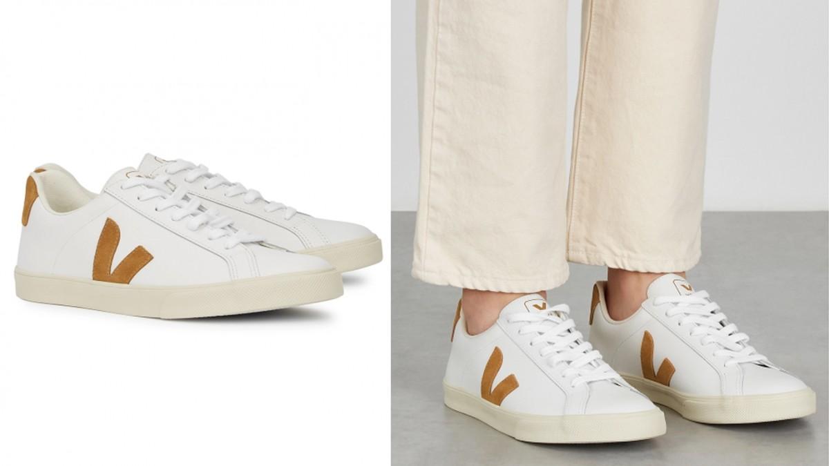 VEJA Esplar white leather sneakers 9折優惠價HK$648