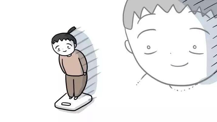 【女生日常習慣】當你認為自己都只是吃多了一點點時,站在體重機看到數字上升了2公斤,就會笑不出來