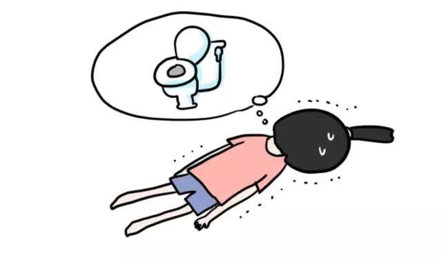 【女生日常私密】即使要去洗手間,也要忍到極限才會去,當去完洗手間又會小步跑回床上玩手機。
