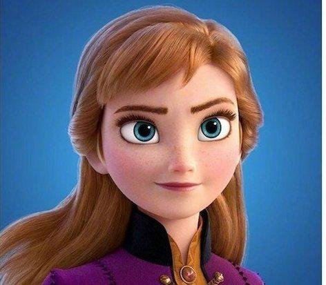迪士尼公主真人版16 copyAnna 的閃亮棕髮,真人版看起來有點凌亂,但是Anna的氣質還在!特別是兩頰的蘋果肌超像的~