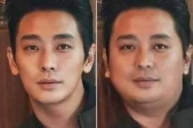 「成功增肥」的男演員還包括出演《與神同行》「解怨脈」一角的朱智勳