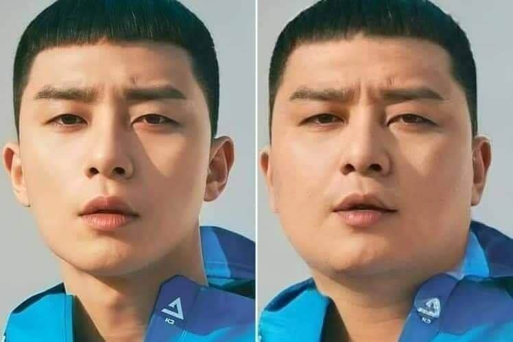 不少網民更指「增磅」後的朴敘俊頗有北韓總統金正恩的感覺,你又覺得相似嗎?