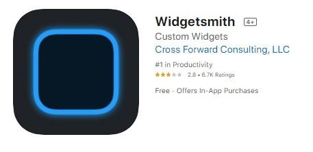 """Widget Smith""app"
