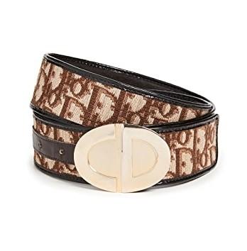 【名牌飾品】Dior Brown Trotter Belt